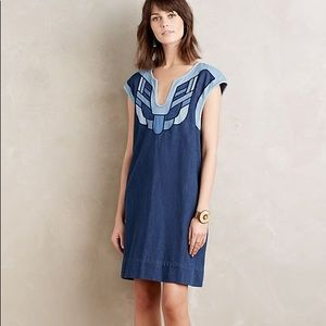 Holding Horses Sanara Denim Dress Anthropologie S